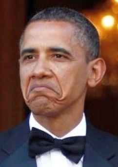 Smug Obama